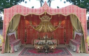 אוהל-לחינה-ורוד-עתיק-וזהב