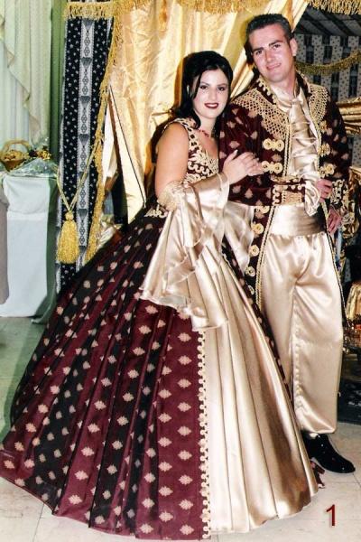 תלבושות לחינה ויקטוריאני